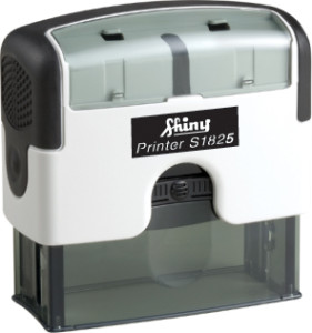 Shiny Self Inking Rubber Stamp