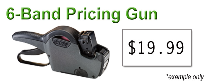 Best Sellers - 6 band pricing gun