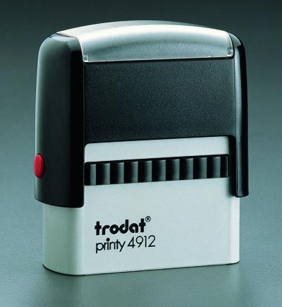 """Trodat - 4912 - 3/4"""" x 1-7/8"""" (18mm x 47mm)"""
