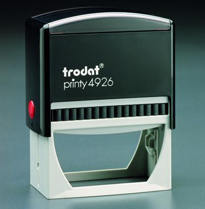 """Trodat - 4926 - 1-1/2"""" x 3"""" (38mm x 75mm)"""