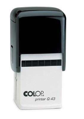 "COLOP 2000 Plus - PQ 43 -  1-5/8"" x 1-5/8"" (43mm x 43mm)"