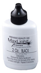 MaxLight Flash Stamp Refill Ink - 2 ounce bottle