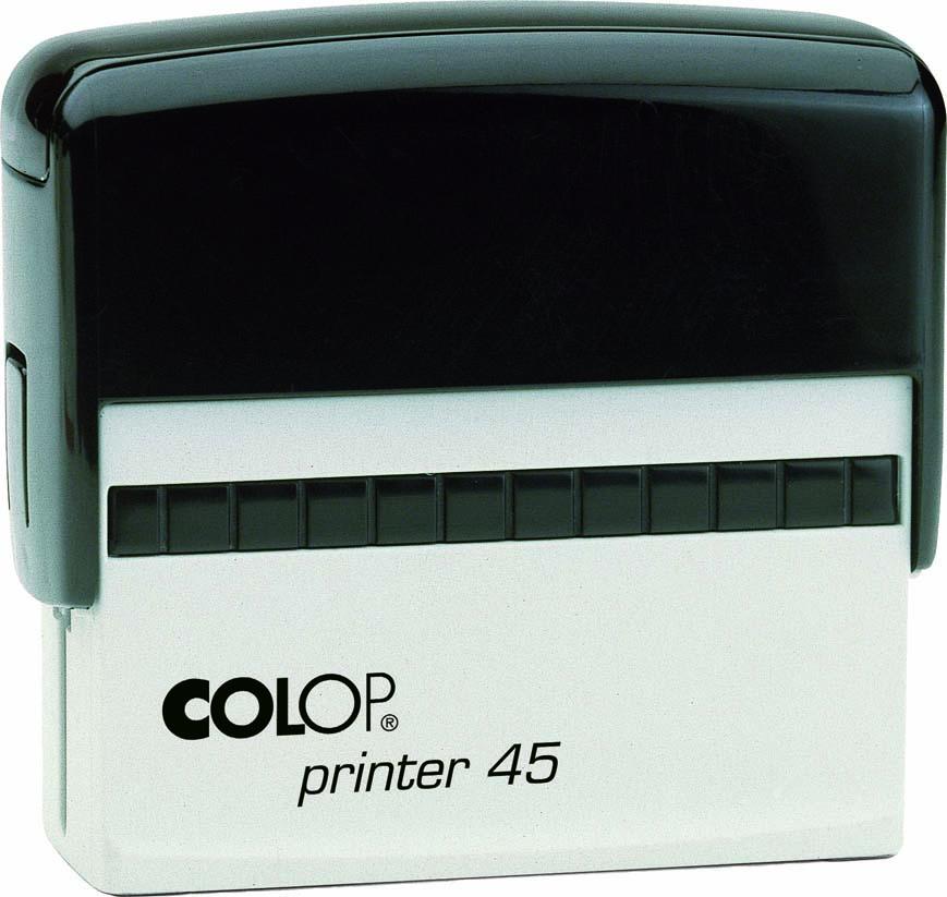 "Colop - P 45 - 1"" x 3-1/4"" (25mm x 82mm)"