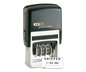 """Colop 2000 Plus - PS-260D - 1"""" x 1-13/16"""" (24mm x 45mm)"""