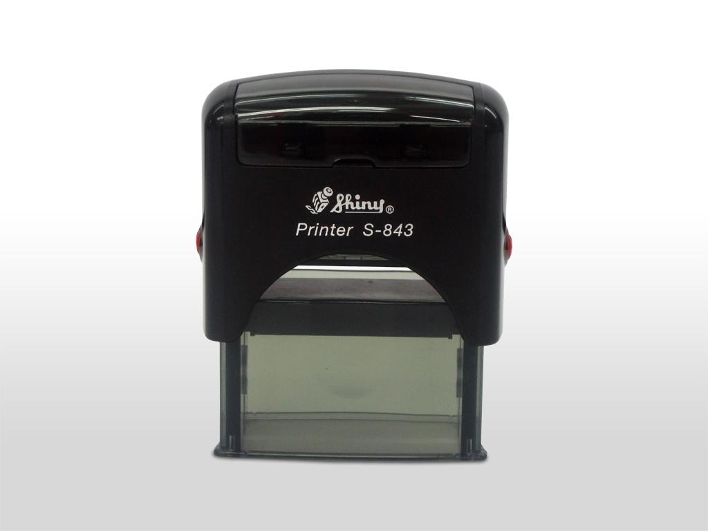 "Shiny - S-843 - 3/4"" x 1-7/8"" (18mm x 47mm)"
