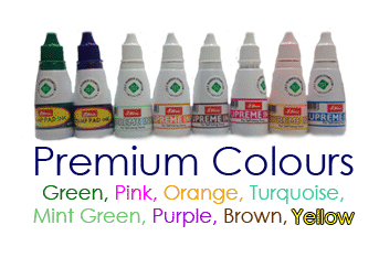 Premium Ink Bottles - 1oz - Water Based Ink (not for use on glossy paper stocks)