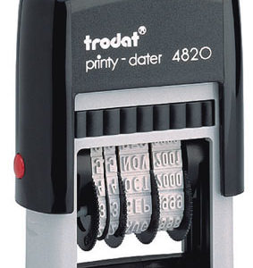 Trodat - 4820 - Just the Date - 4mm high characters