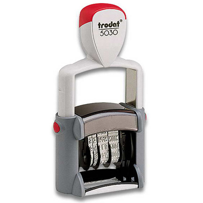 Trodat - 5030 - Just-the-Date - self inking date stamp